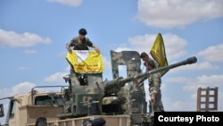 Les soldats participant à l'opération pour libérer Raqqa , Syrie, des combattants de l'Etat islamique , le 24 mai 2016.