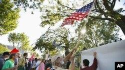 Протести во Вашингтон