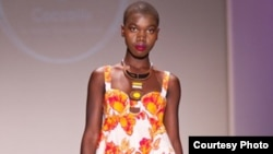 Coccolily fashion label, by Ghanaian designer Naana Tennachie Yankey
