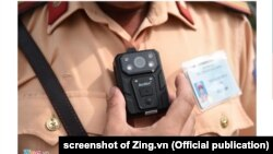 Vietnam's traffic cop used body-worn cameras for the first time, July 15, 2019