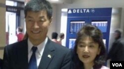 Lobsang Sangay Continues his U.S. tour