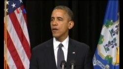 Presiden Obama Kunjungi Keluarga Korban Penembakan Connecticut - Liputan Berita VOA
