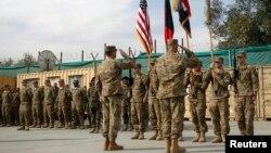 امریکی وزیر دفاع مارک ایسپر نے واضح کیا ہے کہ عراق سے فوجی انخلا کب کرنا ہے اس کا فی الحال کوئی منصوبہ نہیں ہے۔ (فائل فوٹو)