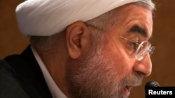 FILE - Iran's President Hassan Rouhani