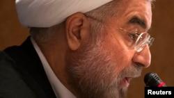 伊朗总统鲁哈尼(资料照片 )