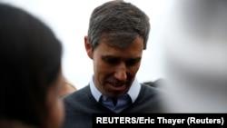 Beto O' Rurk tokom obraćanja pristalicama u američkoj državi Ajova
