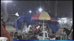 救援人员搜寻菲律宾地震幸存者