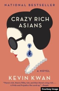 "Novel ""Crazy Rich Asians"" karya penulis asal Singapura, Kevin Kwan (Dok: Kevin Kwan)"