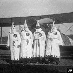 1922年的三K党徒