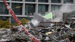 یک ساختمان ویران شده در زلزله شهر کرایست چرچ در جنوب نیوزلند، که یک مدرسه و یک ایستگاه تلویزیونی را در خود جای داده بود