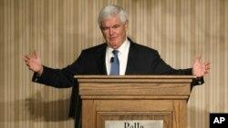 ທ່ານ Newt Gingrich ອະດີດປະທານສະພາຕໍ່າສະຫະລັດປະກາດຈະຖອນຕົວການແຂ່ງຂັນປະທານາທິບໍດີ