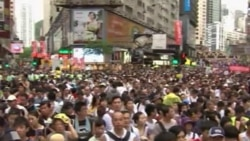 Watch related video of Hong Kong protests