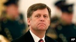 美国前驻俄大使迈克尔·麦克福尔(资料照片)
