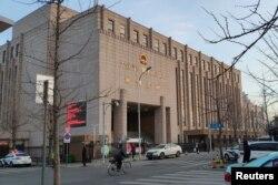 중국 다롄의 중급인민법원.