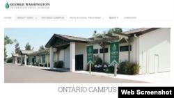 Hình ảnh trên trang web của trường GWIS. (GWISEdu.com)