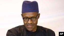 Le nouveau président élu du Nigéria Muahmmadu Buhari