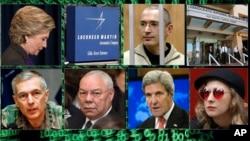 Entre los blancos se encuentran un gerente del programa de aviones cazas furtivos de Lockheed Martin, entidades como la banda de punk Pussy Riot, el entonces secretario de Estado de Estados Unidos, John Kerry, el ex secretario de Estado, Colin Powell y muchos otros.