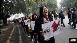 Тибет: за самосожжениями – демонстрации протеста
