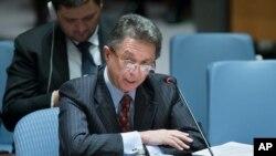 یوری سرگیف سفیر اوکراین در سازمان ملل متحد