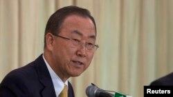 Sekjen PBB Ban Ki-moon dalam pernyataan Rabu (15/8) mengatakan para pakar senjata kimia PBB akan segera berangkat ke Suriah (Foto: dok).