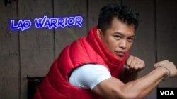 ເຄນຈີ (ສົມສັກ) ໄຊໂກສີ ອາຈານສອນວິຊາປ້ອງກັນໂຕ ແລະ ເຈົ້າຂອງ ບໍລິສັດ Black Belt World ແລະ ບໍລິສັດສ້າງຮູບເງົາ Lao Warrior Film.