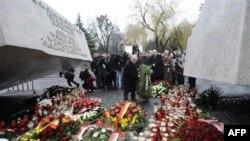 Памятник Леху Качиньскому