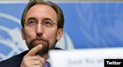 Zeid Ra'ad Al Hussein, alto comisionado de las Naciones Unidas para Derechos Humanos.
