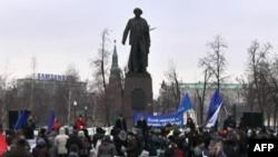 """Moskë, protestë e grupit opozitar """"Vullneti"""""""