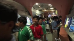 India's Railway Used as Mobile Classroom