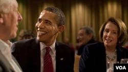 El presidente Obama está cerca de ganar su batalla sobre Reforma de Salud de la que habla Pelosi.