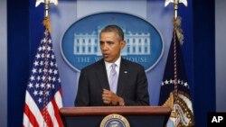 Tổng thống Obama phát biểu về vấn đề Ukraina tại phòng họp báo James Brady, Tòa Bạch Ốc, 28/2/2014