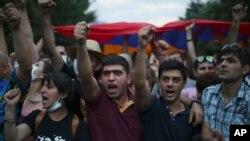 Ереван, Армения. 24 июня 2015 г.
