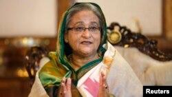 Perdana Menteri Bangladesh Sheikh Hasina mengecam warga Bangladesh yang melakukan migrasi (foto: dok).