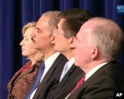 美国各部首长共同宣布网络策略