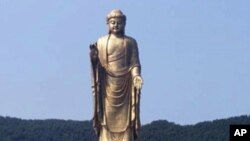 Spring Temple Buddha - ကမာၻ႔အျမင့္ဆံုုး ရုုပ္ထုု