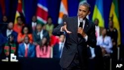 Presiden Obama akan menyampaikan komitmen investasi AS dalam Forum Bisnis Afrika di Washington (foto: dok).