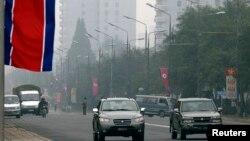 북한 평양 시내. (자료사진)