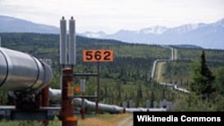 Empat perusahaan besar akan membangun 1.300 kilometer pipa gas alam Trans-Alaska (foto: dok).