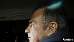 El exdirector de Nissan, Carlos Ghosn, estaba bajo fianza en Japón en espera de un juicio por acusaciones de malas prácticas financieras.