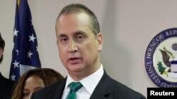 El representante por la Florida, Mario Díaz-Balart, pronunció la respuesta republicana en español.