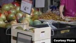 Dans la banlieue de la capitale américaine, une ONG chrétienne distribue des fruits et légumes qui pourraient être jetés