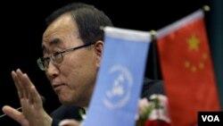 Sekjen PBB Ban Ki-moon desak Tiongkok untuk lebih berperan dalam membantu perbaikan negara-negara berkembang.