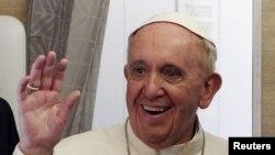 프란치스코 로마 가톨릭 교황. (자료사진)