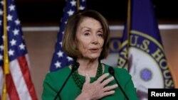Spika wa bunge la Marekani, Nancy Pelosi