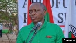 Abílio Kamalata Numa, dirigente da UNITA