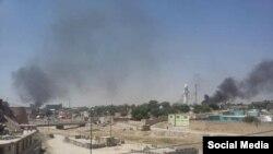 نبود برق و کمبود آب آشامیدنی و مواد غذایی از مشکلاتی است که مردم شهر غزنی با آن مواجه اند.