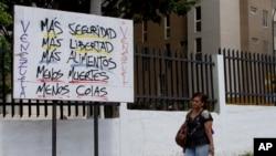 La inseguridad es junto a la escasez y el desabastecimiento uno de los principales problemas de los venezolanos.