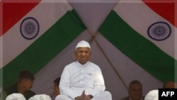 Nhà hoạt động chống tham nhũng Ấn Độ Anna Hazare