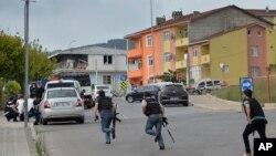 Istanbulning Sultonbeyli mahallasidagi politsiya mahkamasida otishma