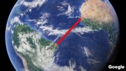 قرار است هوپر مسافت ۳۲۰۰ کیلومتر را با شنا بپیماید